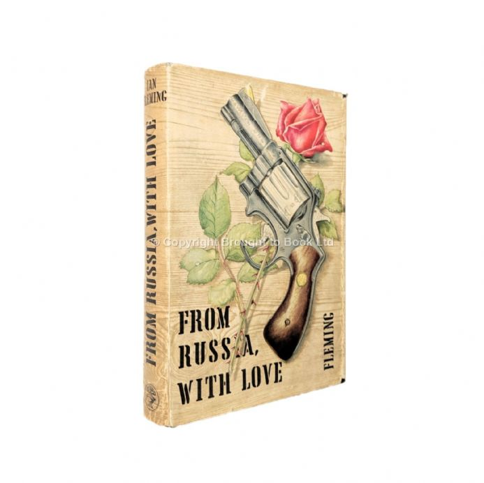 From Russia With Love Signed by Ian Fleming First Edition Jonathan Cape 1957